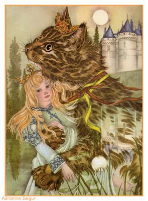 Adrienne Segur Kip The Enchanted Cat