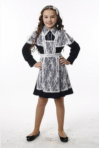 Сшить школьная форма для девочек платье 25