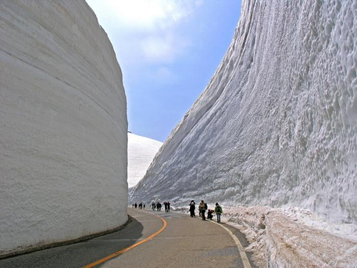 Снега в Японии