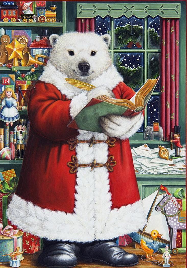 Санта-Медведь