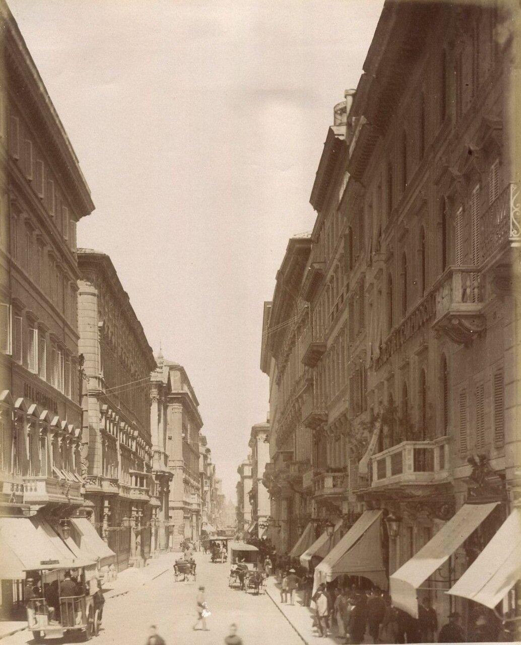 Виа дель Корсо. 1900