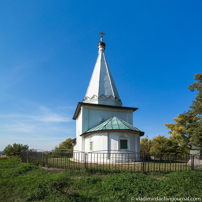 Храм Николая Чудотворца в Петровском (Лыткарино)