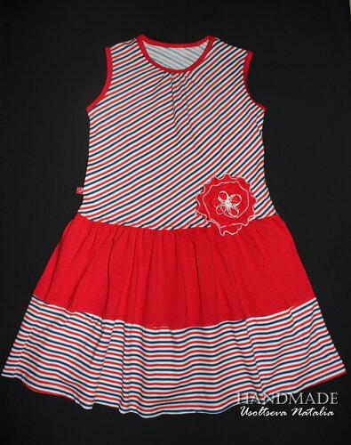 платье_трикотаж_128см