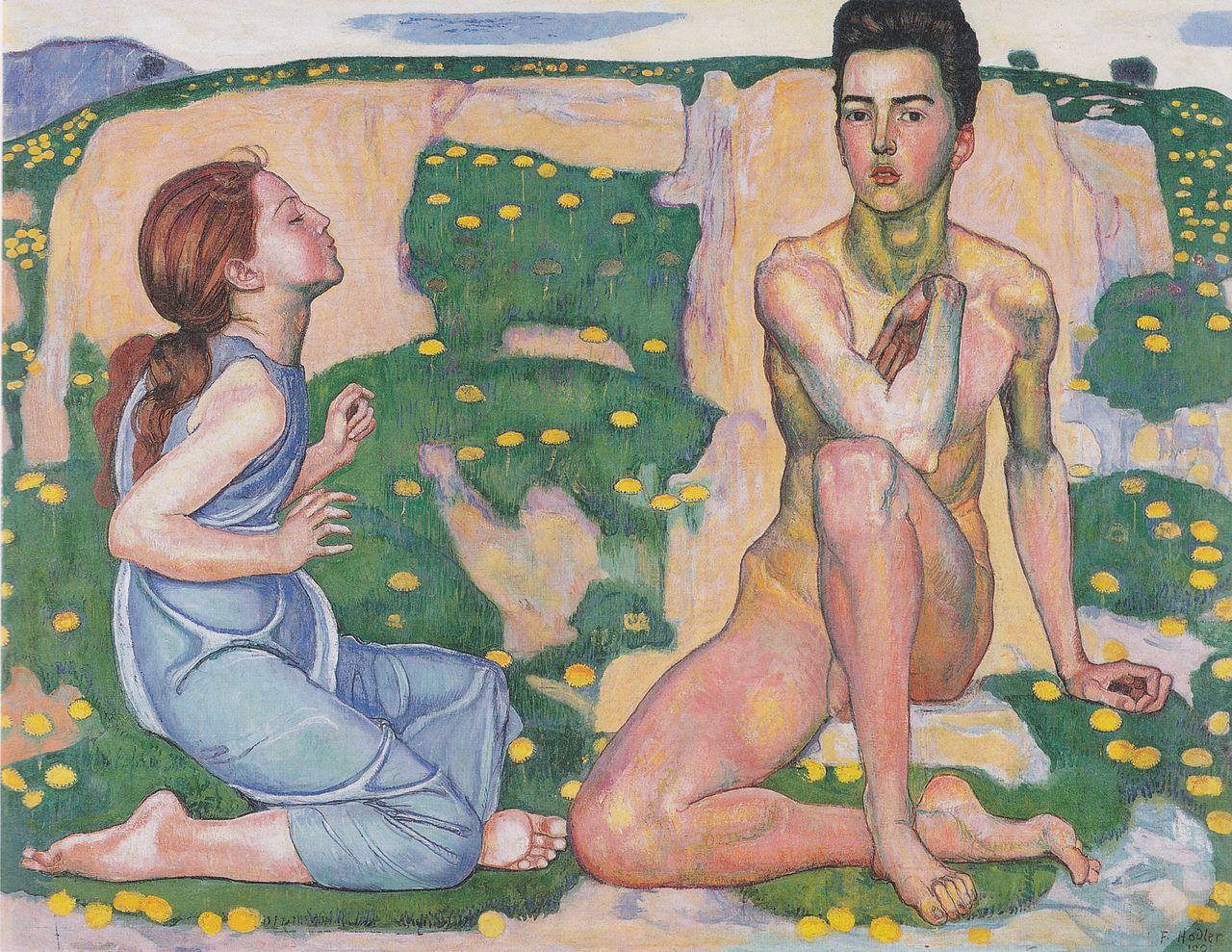 Весна. 1901, Ходлер, Фердинанд (1853-1918);
