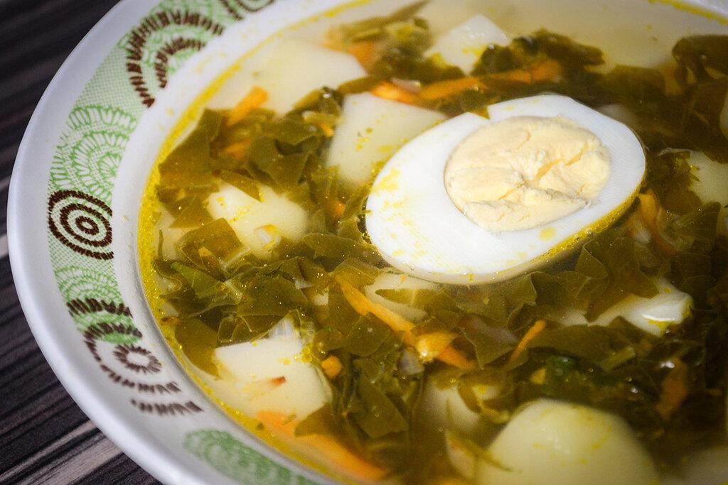 Щавелевый суп рецепт с фото