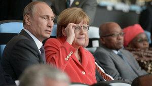 Украинцы не простили Меркель переговоры с Путиным