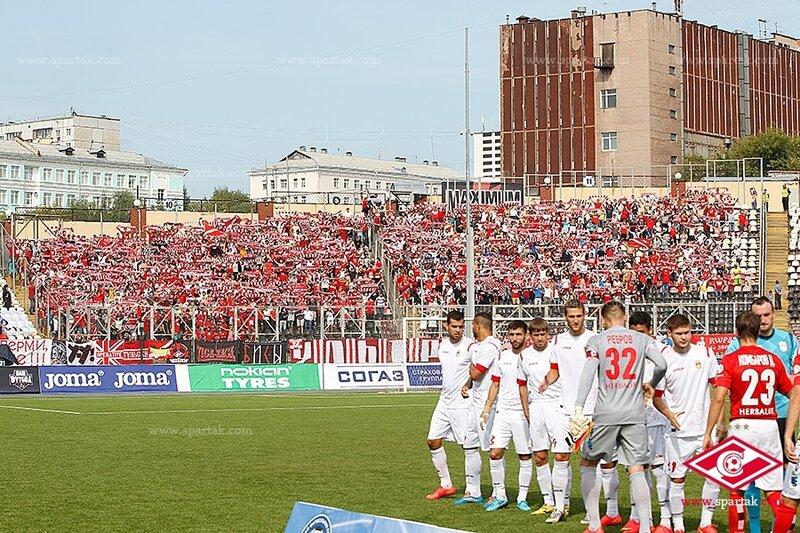 «Уфа» vs «Спартак» 1:2 Премьер-лига 2014-2015 (Фото)