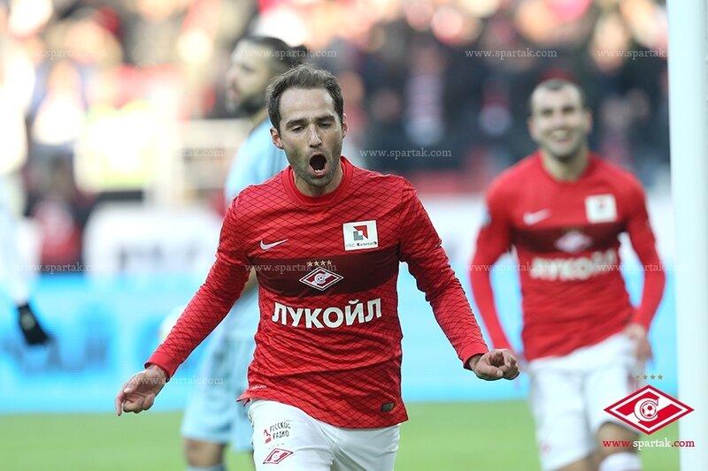 «Спартак» vs «Локомотив» 1:1 Премьер-лига 2014-2015 (Фото)