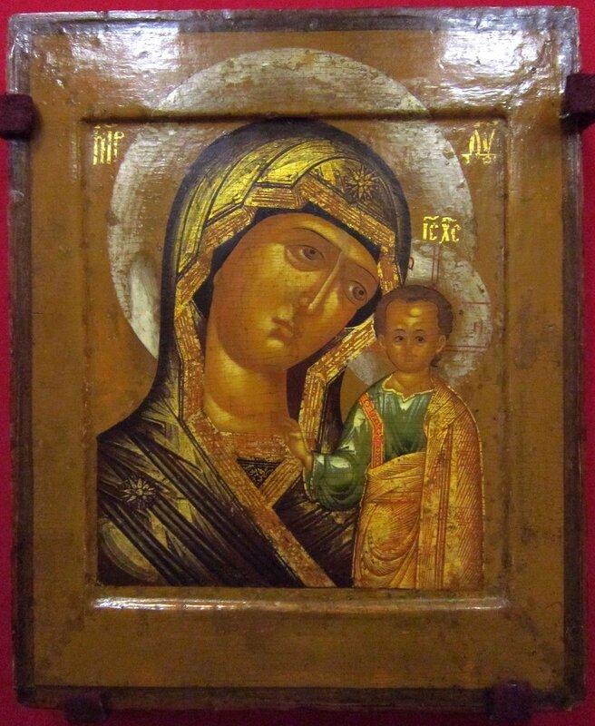Казанская икона Божией Матери. Первая половина XVII века.