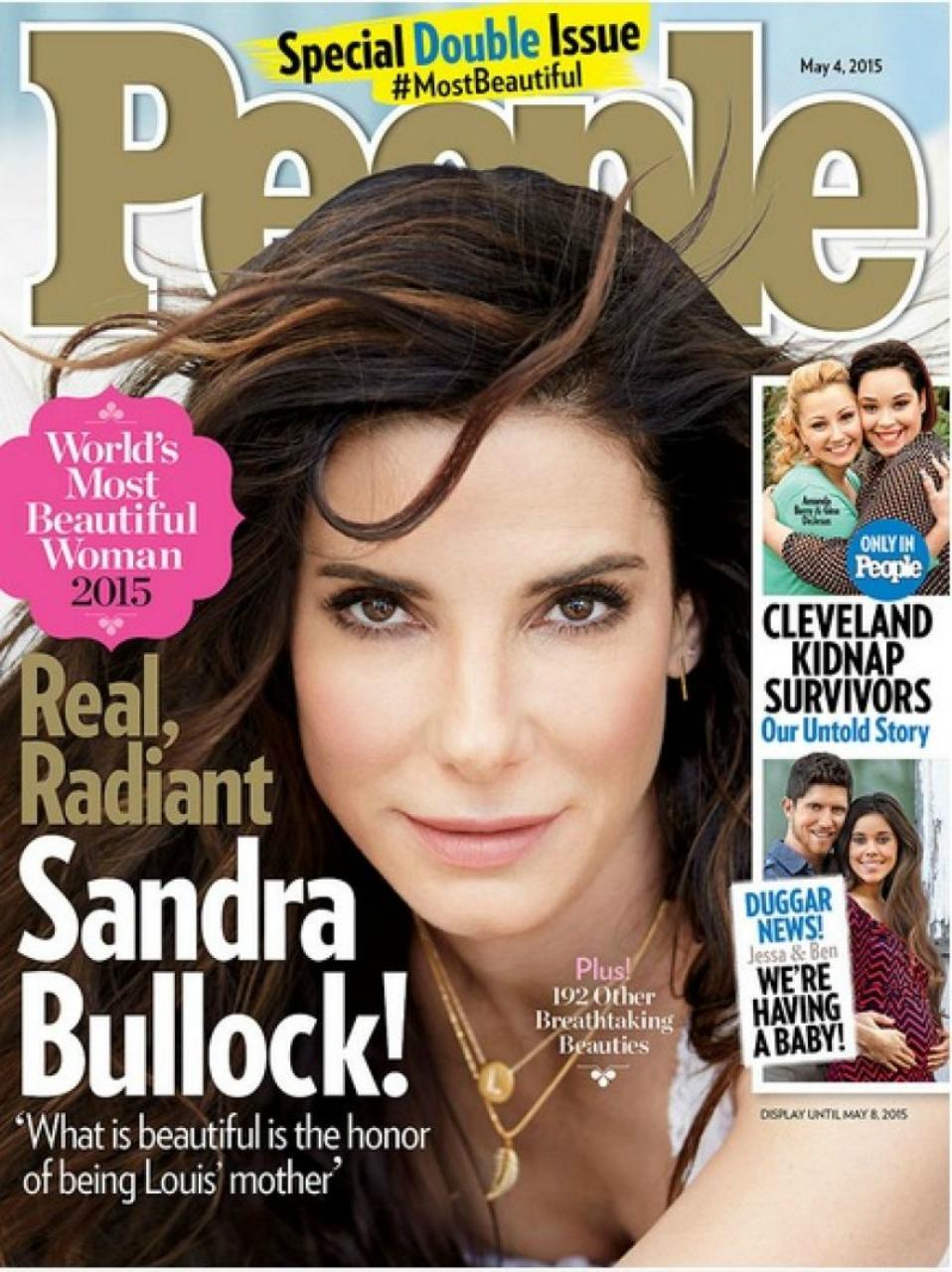 Сандра Буллок по мнению People самая красивая в мире женщина