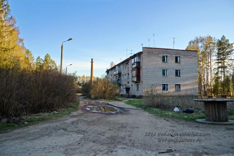 Полузаброшенный жилой дом, Разграбленный пансионат Голубое озеро, Одинцовский р-н