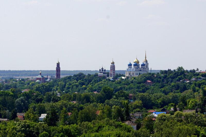 Вид на Болхов, Троицкий Рождества Богородицы Оптин монастырь, Болхов