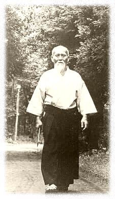 Основатель айкидо Морихэй Уэсиба. Биография