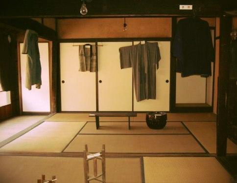 В традиционном японском доме