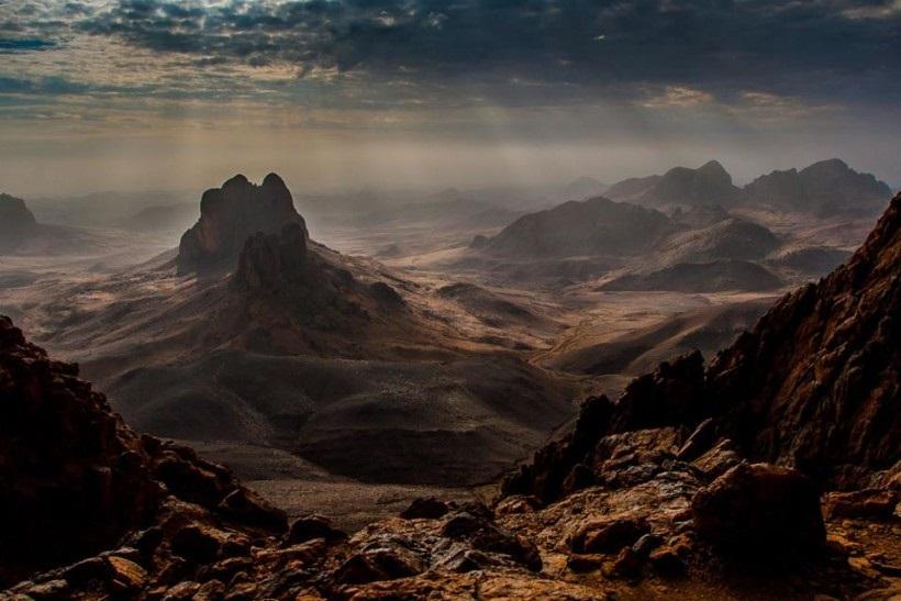 Фотография. Лунный ландшафт Ахаггар