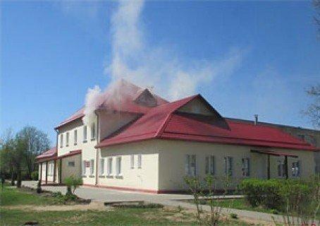 В Могилёве загорелся детский сад