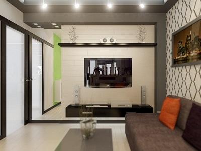 способы зонирования однокомнатной квартиры