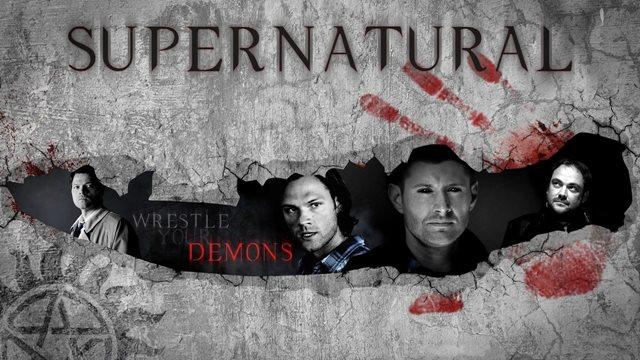Supernatural's Fan Art: новые рисунки поклонников сериала (и стихи)