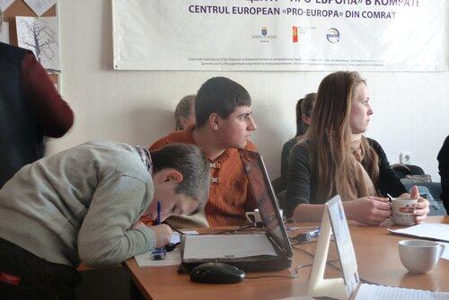 Заседание дискуссионного евроклуба в Комрате.17 марта 2013 год