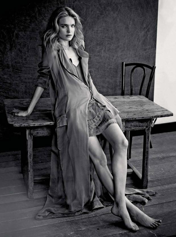 Наталья Водянова (Natalia Vodianova) в журнале L'Express Styles (8 фото)