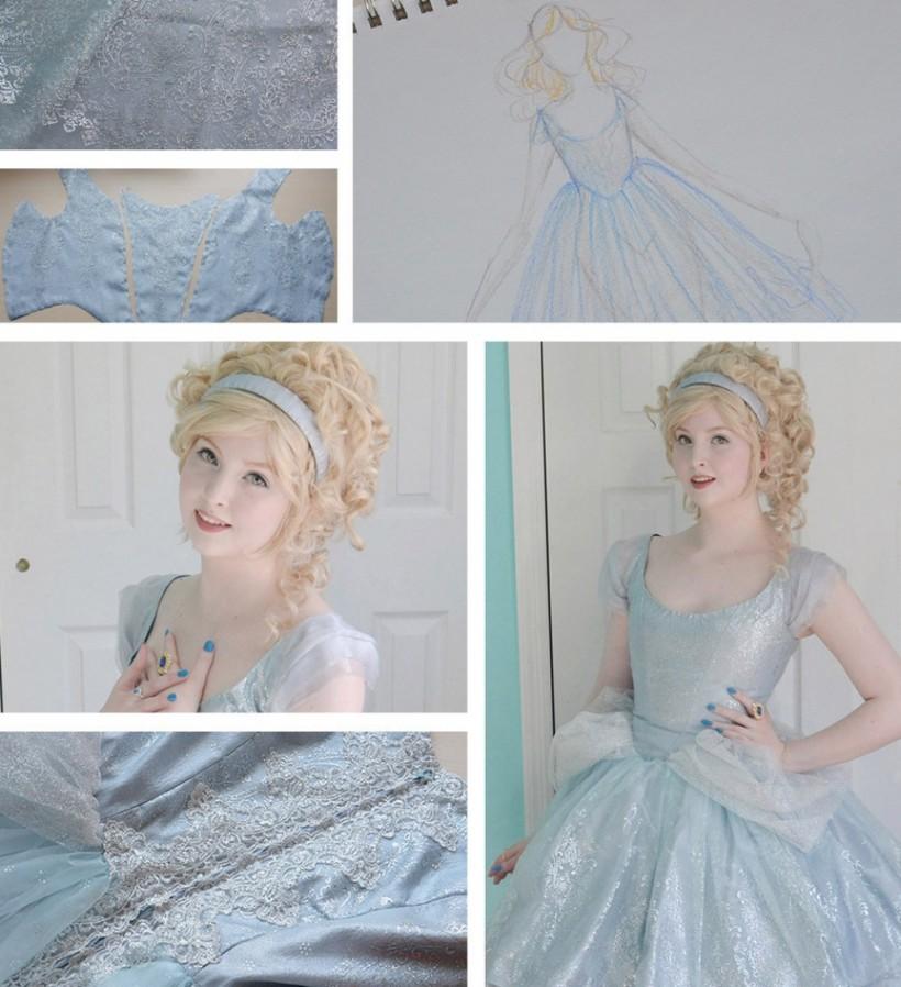 Юная девушка шьет платья, от которых невозможно оторвать глаз
