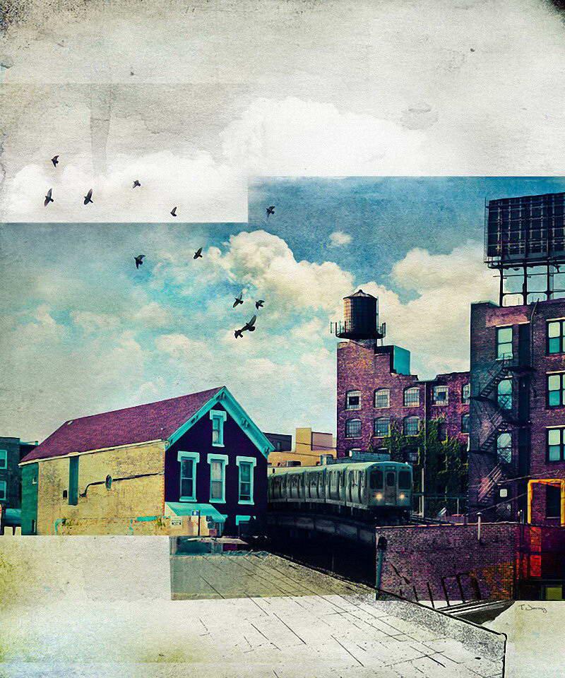 Городские пейзажи от Tim Jarosz