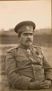 Один из офицеров штаба армии.