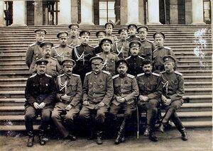 Группа офицеров штаба армии .