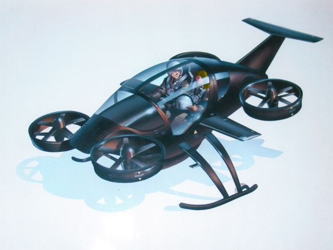 a self balancing quadcopter design with autonomous