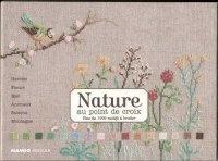 Журнал Nature au point de croix jpeg  71,4Мб