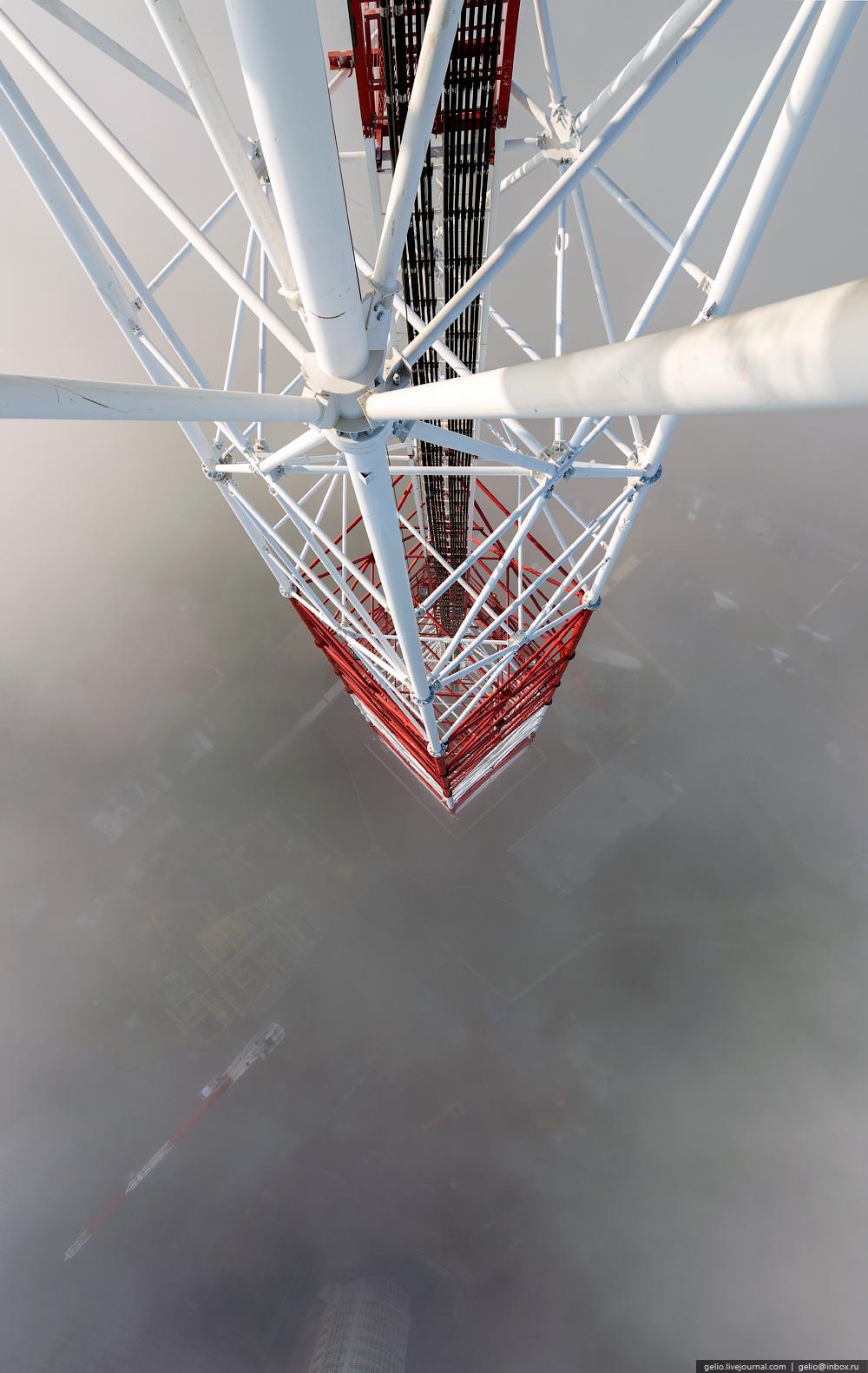 Как устроена красноярская телебашня