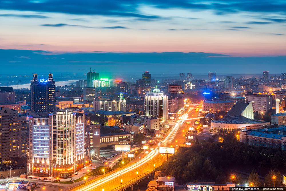 Новосибирск с высоты. Лето 2014 - Gelio (Степанов Слава)