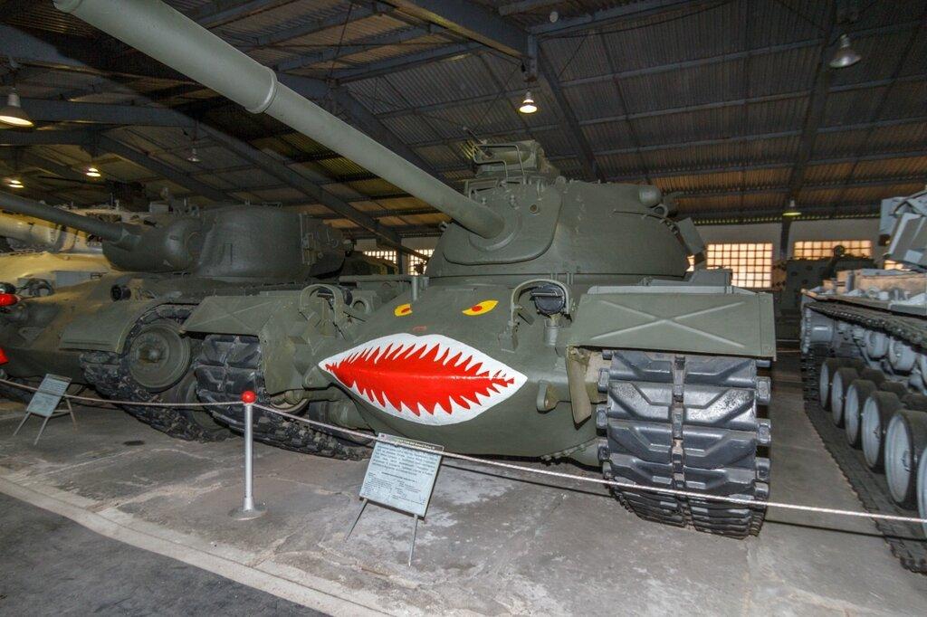 M48 «Patton III» с зубастенькой пастью