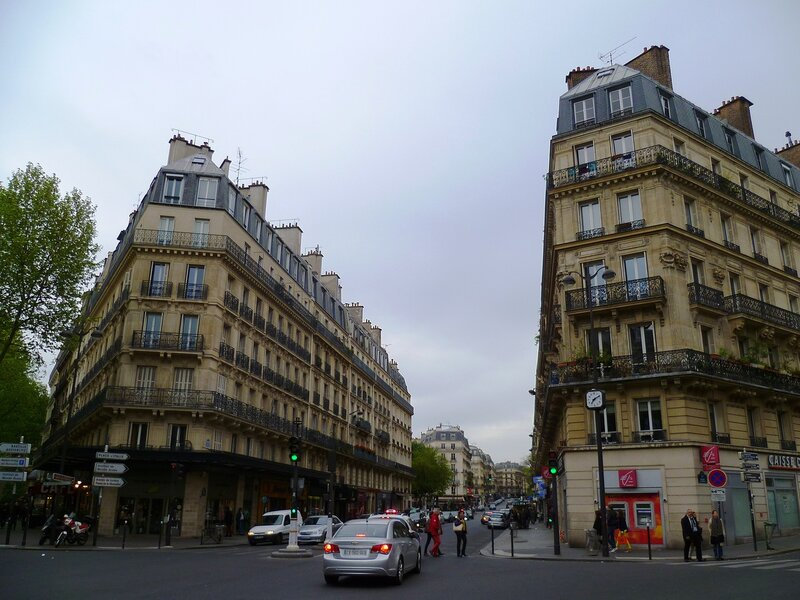 Париж, Латинский квартал (Paris, the Latin Quarter)
