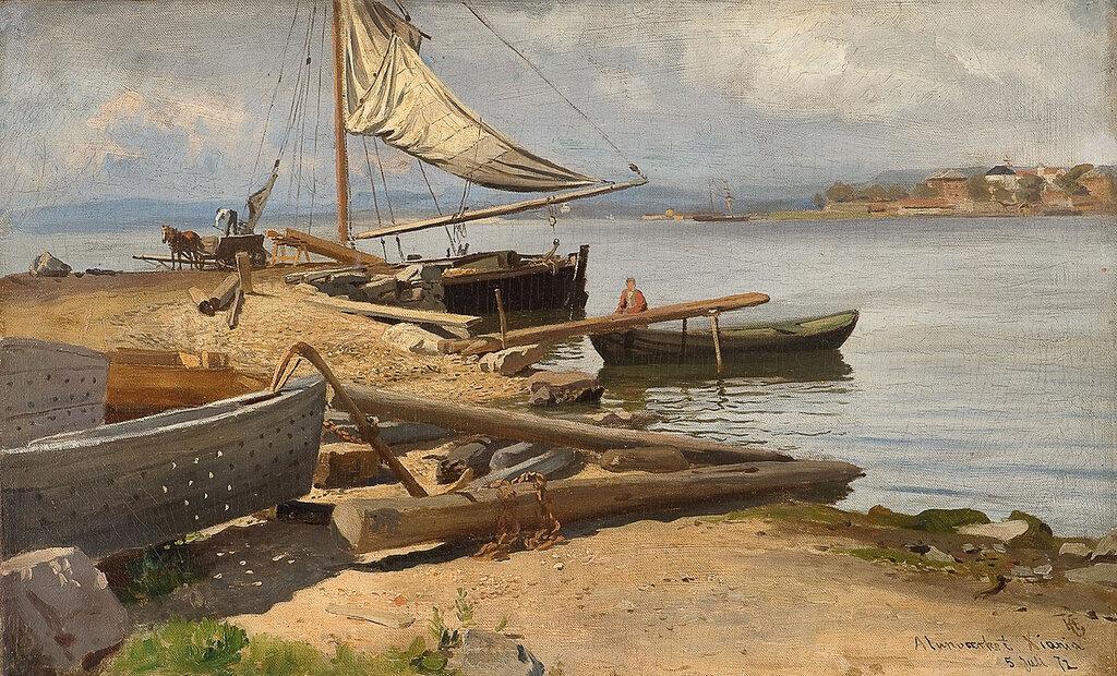 Hans Gude - Fra Kristianiafjorden (1872)..jpg