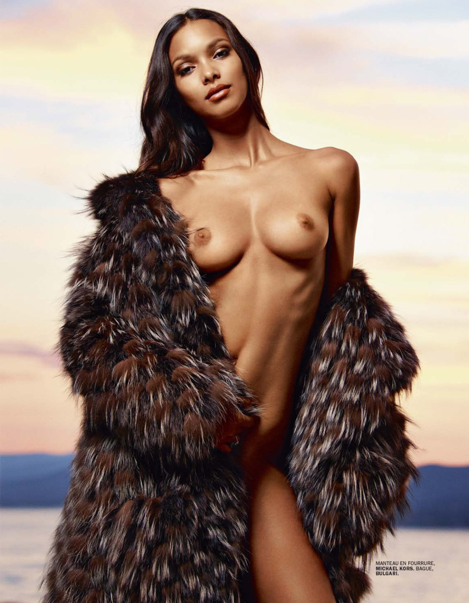 Лаис Рибейро / Lais Ribeiro - Lui Magazine July/August 2014 / photo by Mark Segal