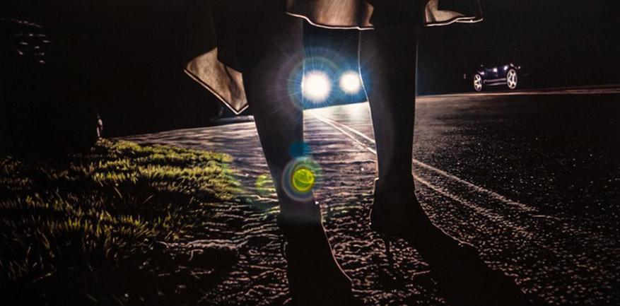 работы художника Дэмиэна Лёба / Damian Loeb - The Vanishing Spoorloos (2006)