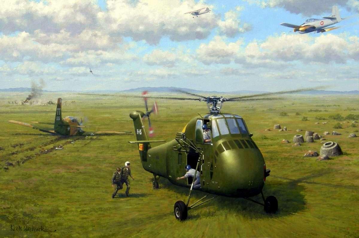 Гарантия спасения военных летчиков (The Airmen's Bond) - Keith Woodcock, 2008 год