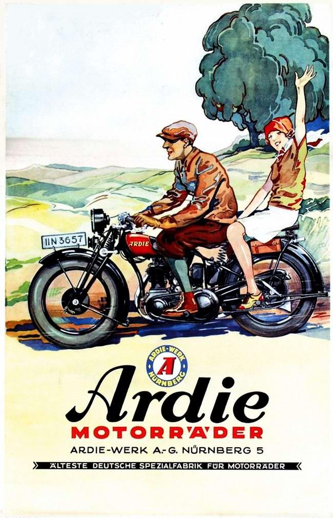 Ardie - Германия (1929 год)
