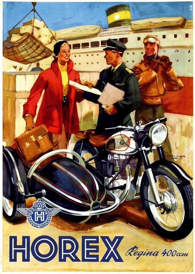 Horex Regina 400 - Германия (1953 год) -  2