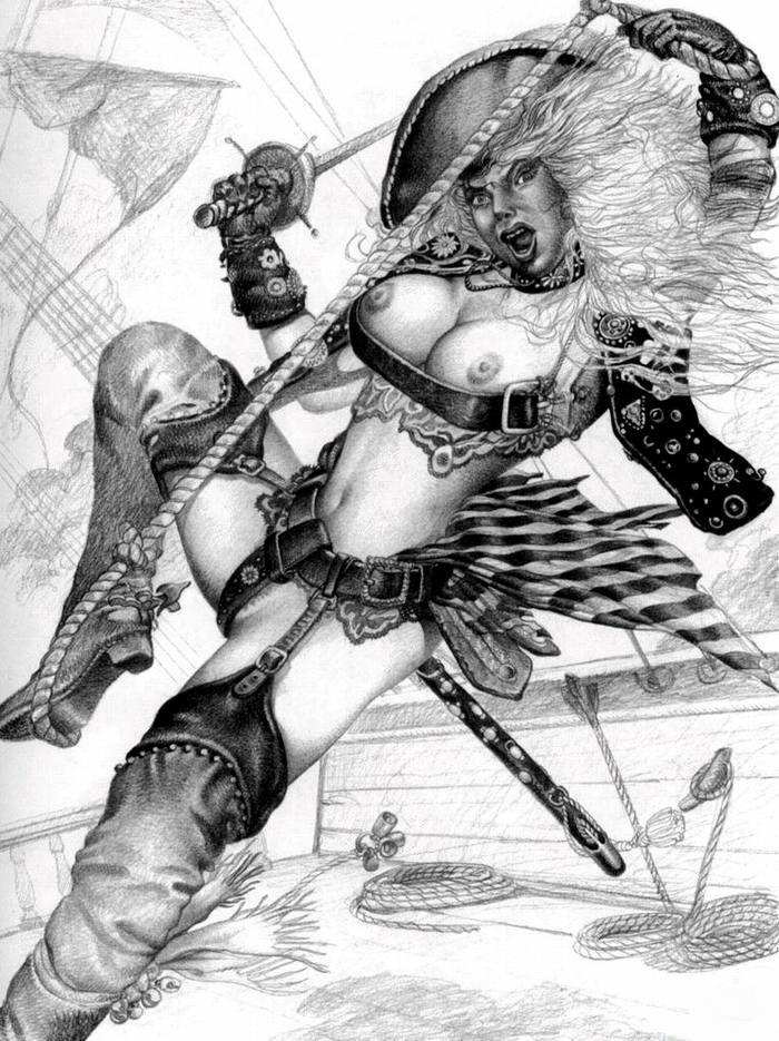 Графика: истории из жизни девушек - пираток (42)