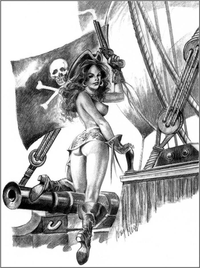 Графика: истории из жизни девушек - пираток (77)