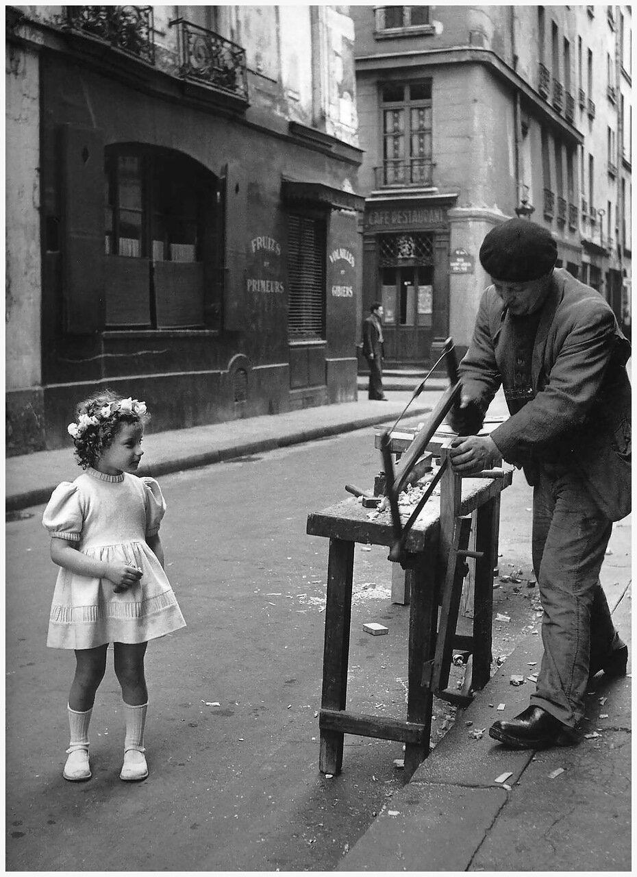 1947. Столяр на улице Сент-Луис