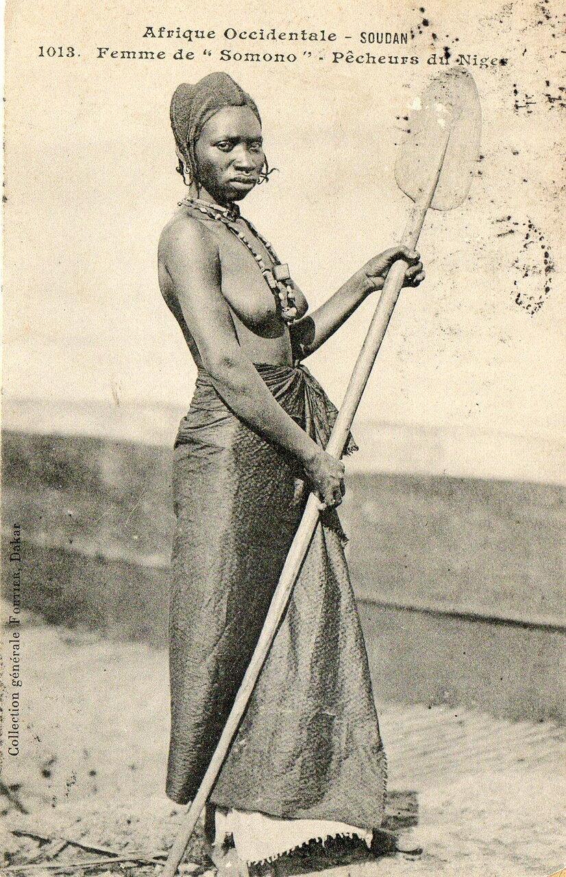 1013. Судан. Женщина народа сомоно