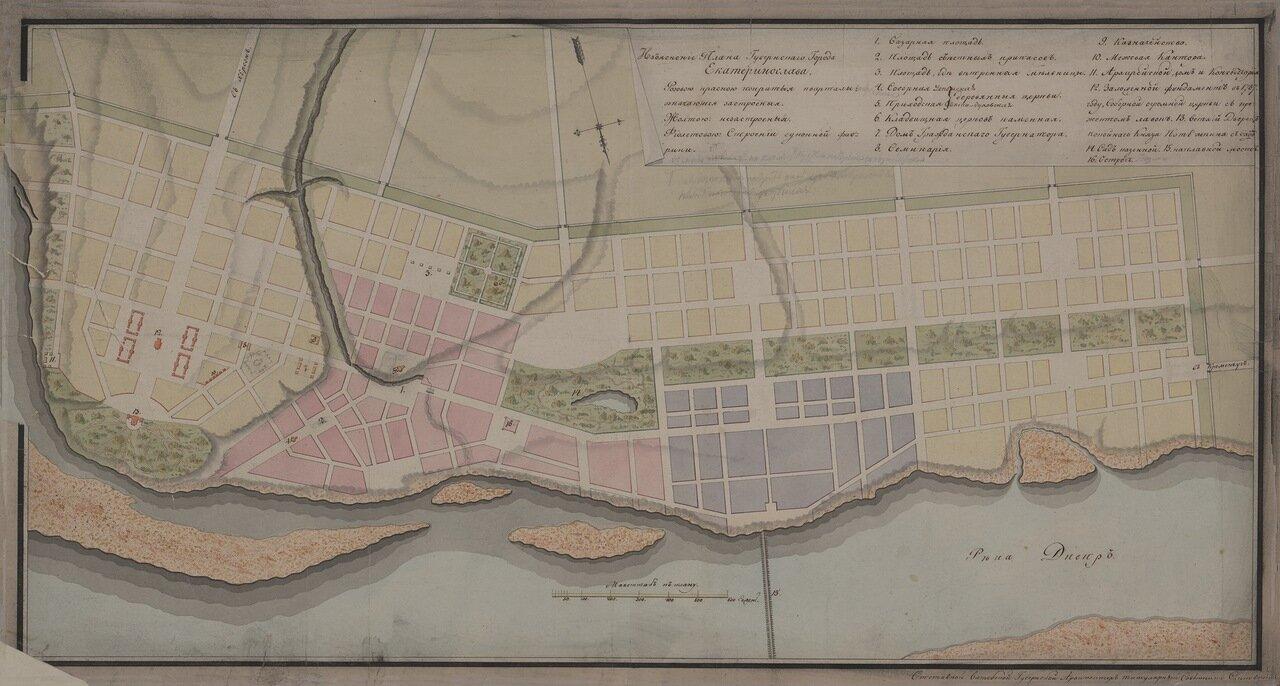 План Губернскаго города Екатеринослава