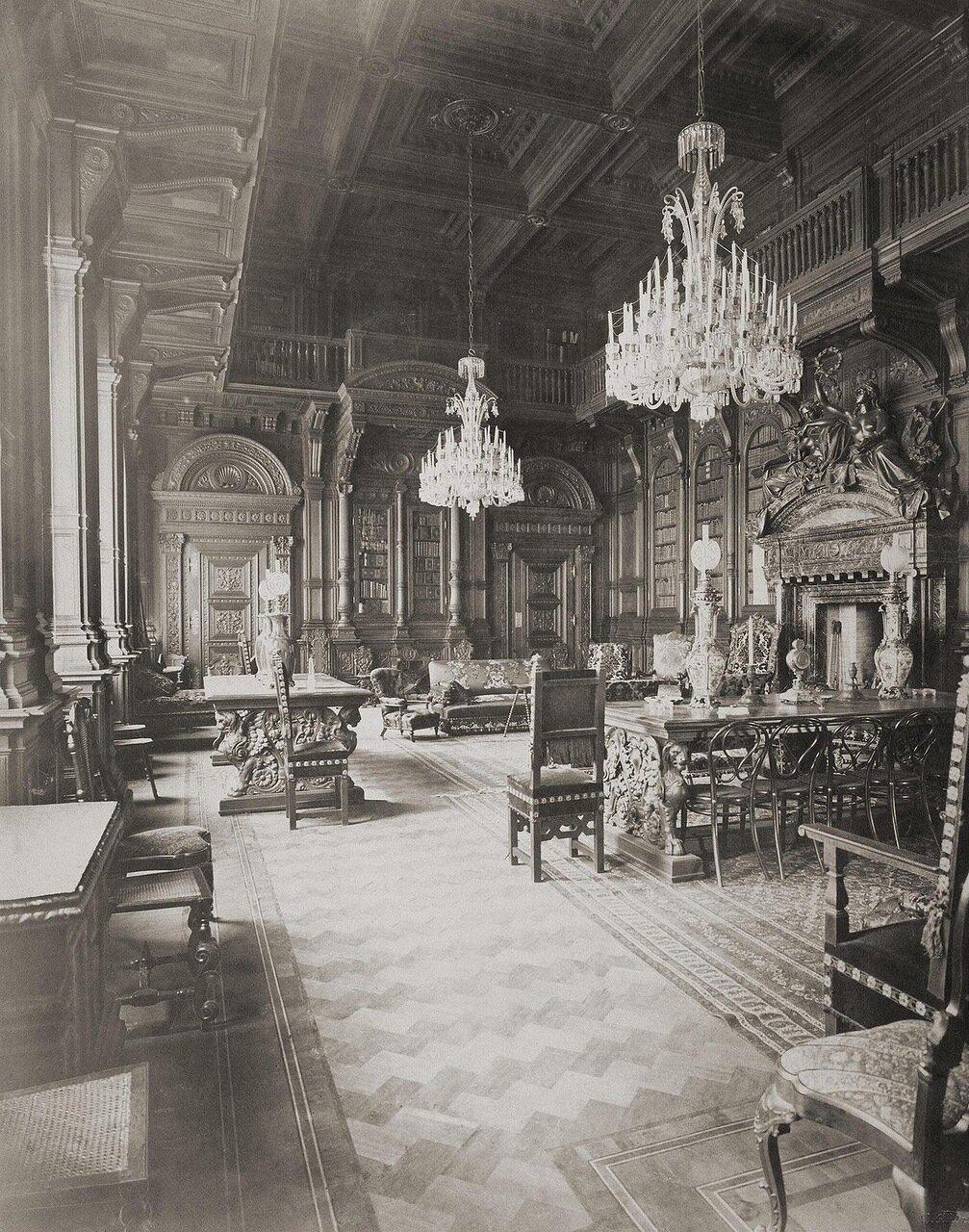 Библиотека в доме А.А. Половцова на Большой Морской улице