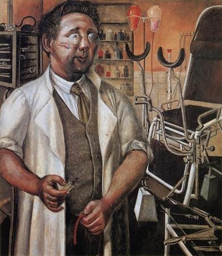 Доктор Ганс Кох. 1921, Отто Дикс (1891-1969)