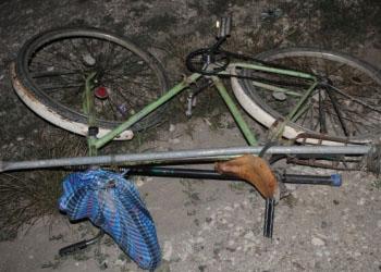 В Унгенах молодой человек совершил наезд на велосипедиста