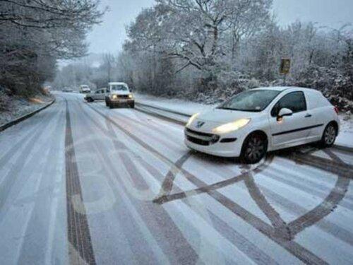 Гололёд становится причиной многих ДТП в Молдове
