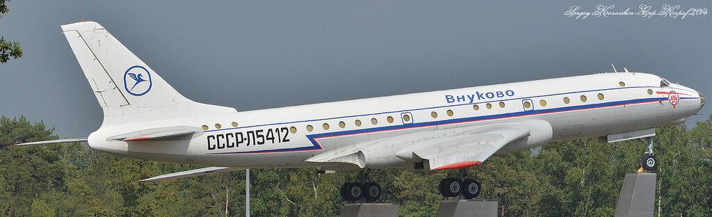 Туполев Ту-104Б Аэрофлот - МГА СССР СССР-Л5412
